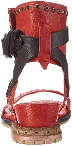 A.S.98 Punch - Tira de tobillo Mujer Rot (Fire/Nero/Fire/Fire)