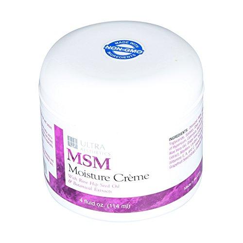 Ultra Aesthetics - MSM Moisture Creme - 4oz