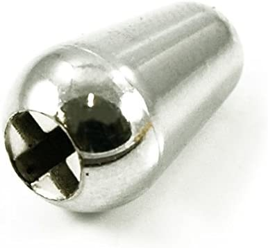 1 x Stratocaster Selector Toggle Switch Tip Cap Knob Fender - White
