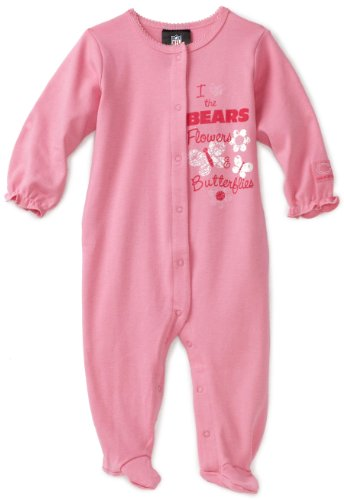 UPC 047213603789, NFL Infant/Toddler Girls' Chicago Bears Sleep 'N Play With Ruffle (Team Color, 6-9M)