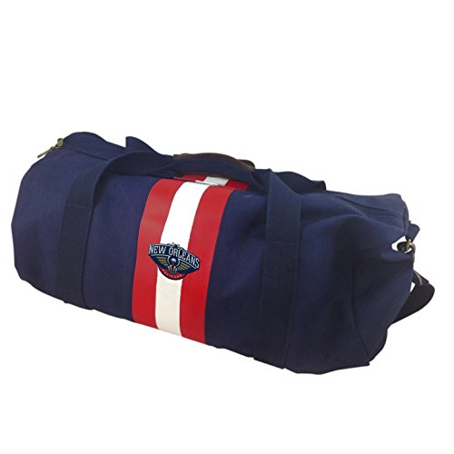 NBA New Orleans Pelicans Blue Rugby Duffel Bag by Pangea Brands