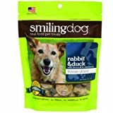 Cheap Herbsmith Smiling Dog Treats – Freeze Dried Raw Rabbit & Duck – Grocery-Grade Fruits + Veggies – Gluten + Grain Free – Made in USA – 2.5 Ounce