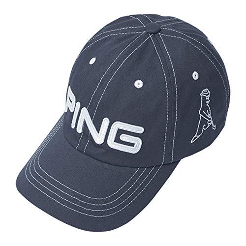 PING ピン コットン アンストラクチャー 6パネル キャップ Mr.PING Navy/White 33956 日本正規品