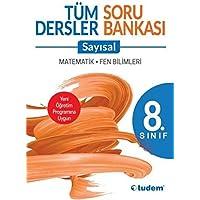 Tudem 8. Sınıf Tüm Dersler Soru Bankası-Sayısal-YENİ
