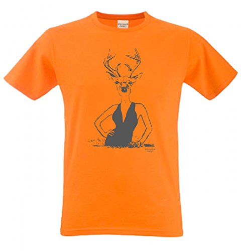 382c7aad2c Wiesn T-Shirt statt Tracht & Dirndl - Hirschlady - Lustiges Spruchshirt als  Geschenk zum