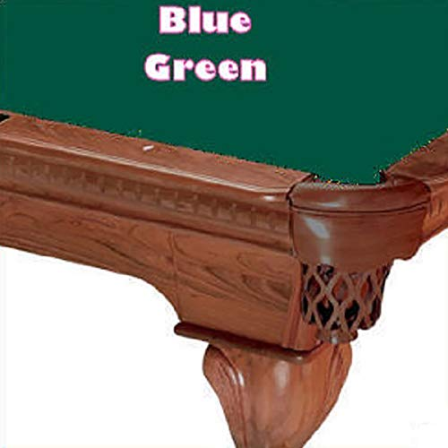 (9' Simonis 760 Blue Green Billiard Pool Table Cloth Felt)