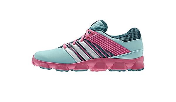 adidas Hockey Flex Zapatilla de hockey para mujer, Verde/Rosa, 38: Amazon.es: Zapatos y complementos