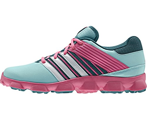 the best attitude 45efb cc2cf adidas Hockey Flex Zapatilla de hockey para mujer, Verde Rosa, 38   Amazon.es  Zapatos y complementos