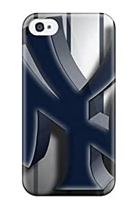 First-class Case Cover For Iphone 4/4s Dual Protection Cover New York Yankees