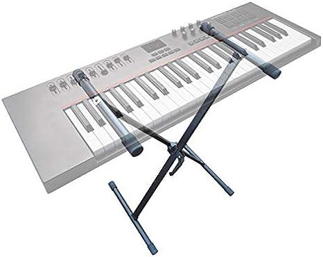 Soporte para teclado (cabe para Yamaha Casio Korg Roland) Keyboard S de piano piano piano digital Sintetizador Stage Piano-Soporte trípode Piano ...