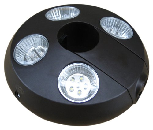 Precision DM Lighting 11027 Umbrella Light with Rechargea...