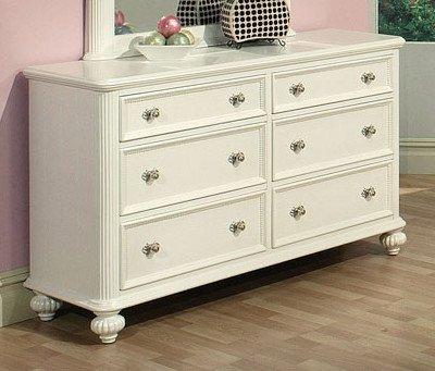 Acme 30011 Athena Dresser, White