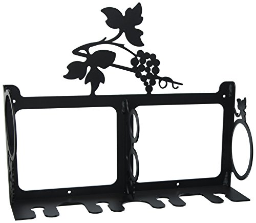 15 Inch Grapevine Wine Rack Wall Mount