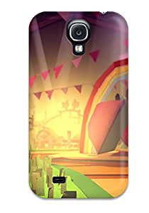 Durable Defender Case For Galaxy S4 Tpu Cover(tearaway Unfolded)