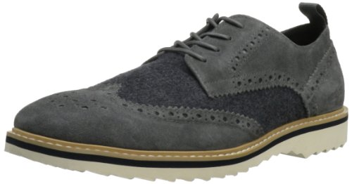 Kenneth Cole REACTION Men's Fever Pitch WO Lace-Up,Grey,8 M US