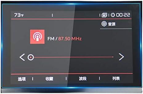 SNOWINSPRING 車のGPSナビゲータースクリーンプロテクター強化ガラスフィルム C5 2019適用