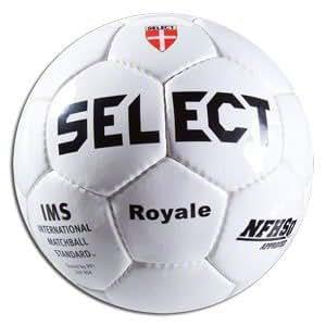 Select Sport America Royale Soccer Ball, White, Size 4