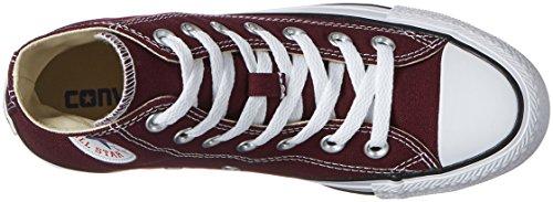 Converse Unisex Adulto Chuck Taylor All Star Alta Sneaker Rosso (dark Sangria)