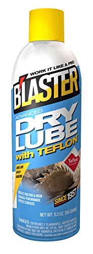 B'laster 16-TDL Advanced Dry Lube with Teflon - 9.3-Ounces (Blaster Spray)