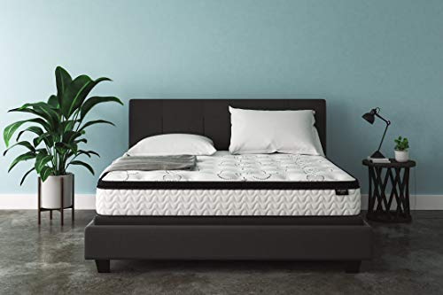 Ashley Furniture Signature Design - 12 Inch Chime Express Hybrid Innerspring - Firm Mattress - Bed in a Box - King - White