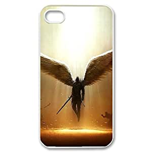 COMEON Customized Print Fantasy Angel Pattern Back Case for iPhone 4/4S