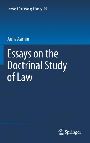 Essays on the Doctrinal Study of Law: 96