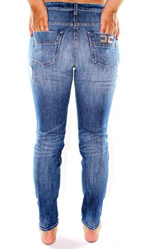 Elisabetta Franchi Jeans Donna PJ09I76E2 Blu