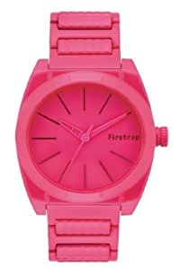 Firetrap - Reloj de pulsera mujer, acero inoxidable, color rosa