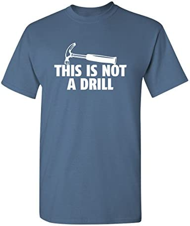 Drill Adult Graphic Novelty Sarcastic product image