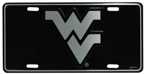 NCAA West Virginia Mountaineers Car Tag Elite