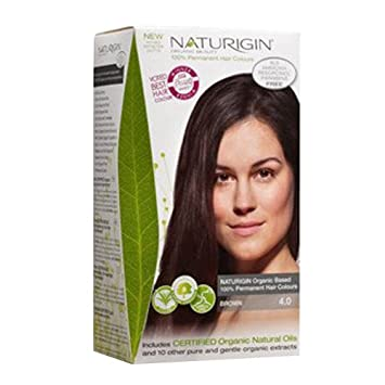 Amazon.com : Naturigin Permanent Organic Hair Color, Brown : Beauty