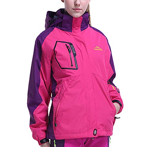 Pièces Hoodie Assault Hiver Femme Plus Blouson Deux Polaire Ensemble Size Vif Sport Liner Automne Vêtements Manteau Veste Outdoor Chaud Zzzz Rose ATqpO