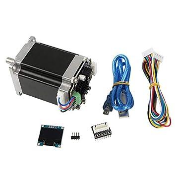 Jarhit Piezas de la Impresora 3D Circuito Cerrado NEMA23 ...