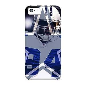 High Quality Phone Cover For Iphone 5c With Custom Vivid Dallas Cowboys Image LauraAdamicska