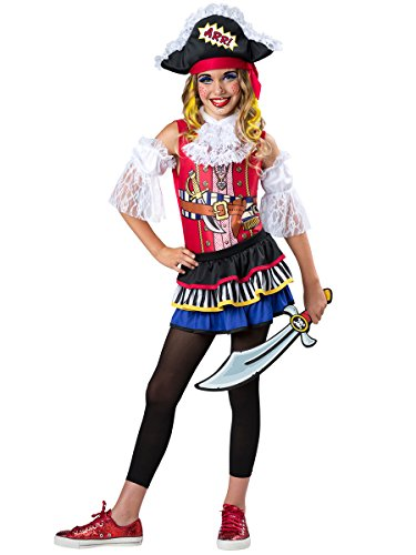 InCharacter Costumes Pop Pirate Costume, One Color, Large