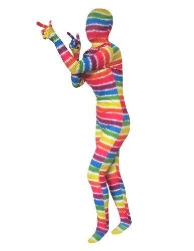 EyeCandy UK Disfraz de superpiel arcoíris - para Adultos ...