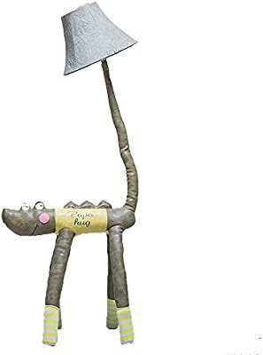 XWCPDM Lámpara De Mesa Infantil De Cocodrilo Animal De Dibujos ...