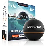Deeper Smart Portable Fish Finder (Depth Finder) for Smartphone or Tablet, suitable for Ice Fishing, Kayak, Boat and Shore Fishing. Compatible with iOS and Android devices
