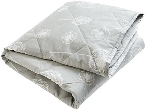 Brooklyn Born Organic Quilt - Wishes & Dreams, Grey/White, One Size