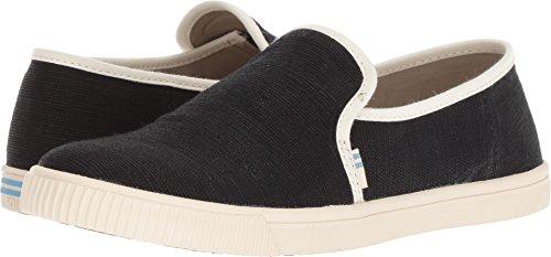 TOMS Women's, Clemente Slip on Shoes Black Beige 5 M