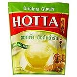Hotta Instant Ginger Original Flavor 18g. Pack 14sachets
