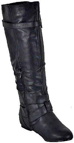 Bonnibel Bianca-05 Svarte Kvinner Uformelle Støvler, 5,5 M Oss
