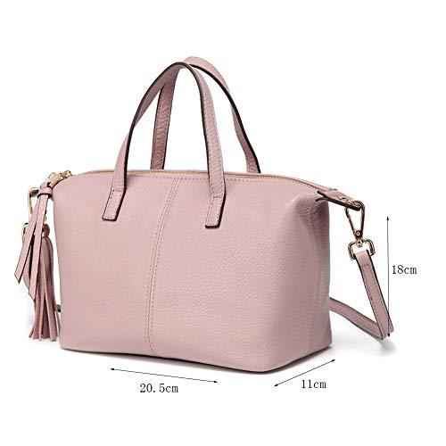 Jhmy Tra Scegliere Semplice Multi Versatile 5 11 20 Tendenza Black Borsa pink A Tracolla Mano Cm funzione Colori Cui Casual 5 18 H4w0qHTrY