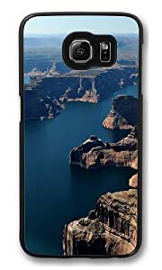 Aerial view of canyon PC Case Cover for Samsung S6 and Samsung Galaxy S6 Black by kobestar