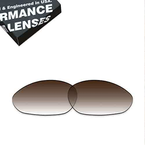 6d14e55aee ToughAsNails Polarized Lens Replacement for Oakley Minute 2.0 Sunglass -  Brown Gradient