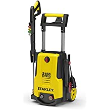 Stanley SHP2150 2150 psi Electric Pressure Washer with Spray Gun, Wand, Hose, Nozzles & High Pressure Foam Cannon, Yellow, Medium