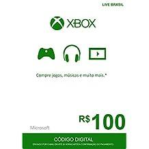 Cartão Presente - R$100.00 - Xbox