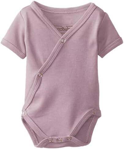 L'ovedbaby Unisex Baby Organic Short-Sleeve Kimono Bodysuit