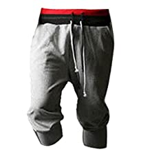 Changeshopping(TM)Men Sport Sweat Pants Shorts Harem Dance Baggy Jogging Training Trousers