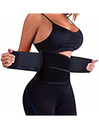 5a8693c6161fd Waist Trainer Belt for Women - Waist Cincher Trimmer - Slimming Body Shaper  Belt - Sport
